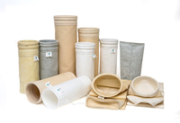 Industrial Air Dust Filter Sleeves Filter Bags